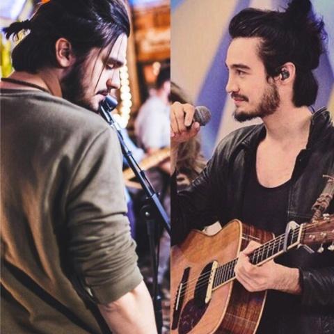 Tiago Iorc e Laun Santana