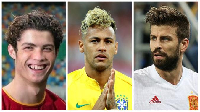 CR7, Neymar e Piqué