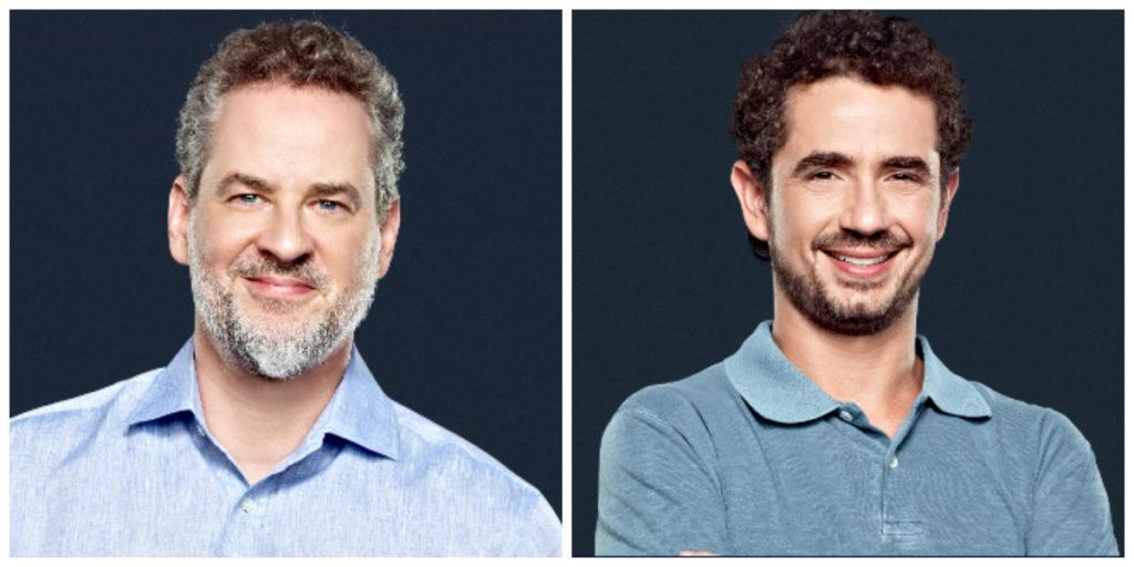 Dan Stulbach e Felipe Andreoli